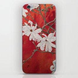 Red Spring iPhone Skin