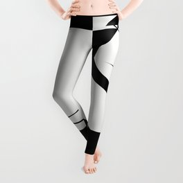 Venice / Abstract Shapes and Lines Leggings