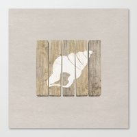 seashell Canvas Prints featuring Seashell by Alyn Spiller
