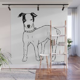 The Dog Wall Mural