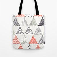 triangle Tote Bags featuring Triangle by samedia
