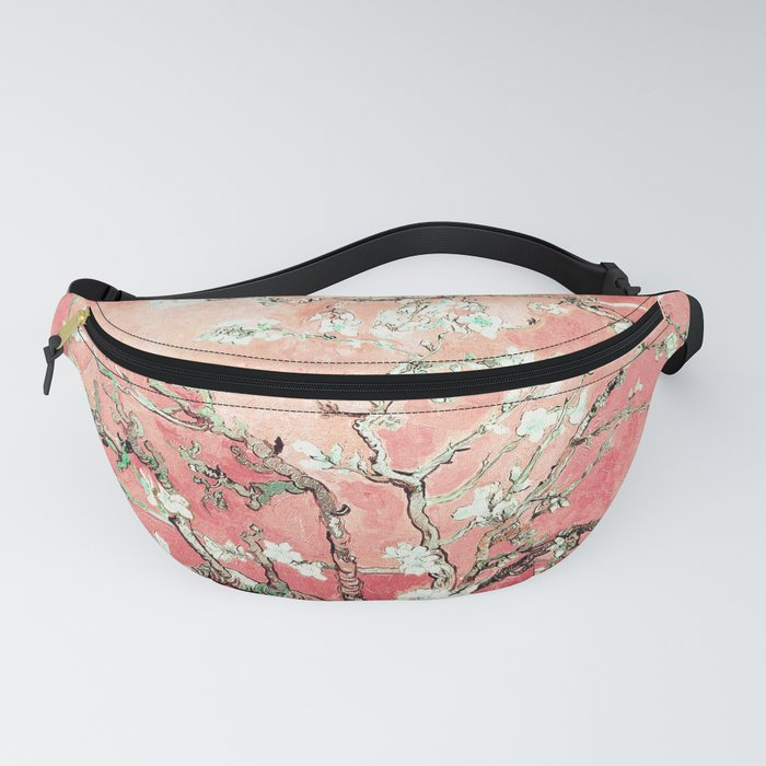 Van Gogh Almond Blossoms : Peach Fanny Pack