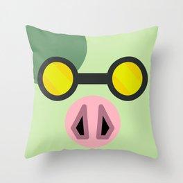 Animal Crossing Cobb Throw Pillow