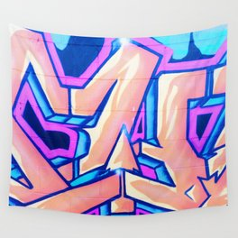 Candy Street Art Wall Tapestry