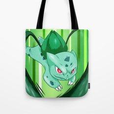 Grass Pocket Monster - 001 Tote Bag