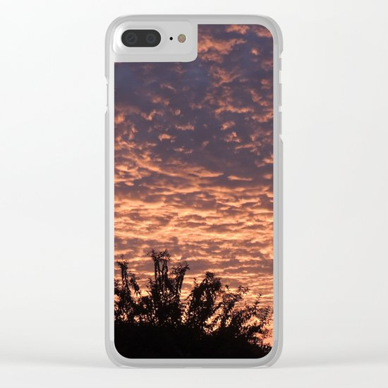 Atmospherics Number 2: Sunset from Costco San Dimas Clear iPhone Case