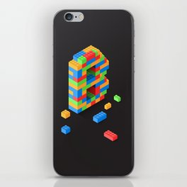 Building Blocks Letter B iPhone Skin