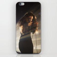 Lorde shines iPhone & iPod Skin