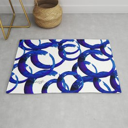 Enso Of Zen No. 21 by Kathy Morton Stanion Rug