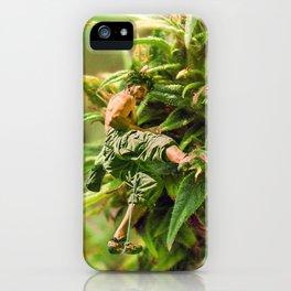 Cannabis Trip iPhone Case
