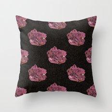 Amethyst Pattern Throw Pillow
