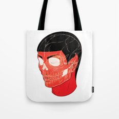 Red Vulcan Tote Bag