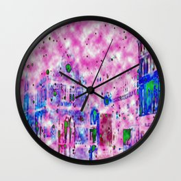 Shrewsbury up in the Clouds  Wall Clock
