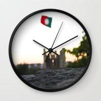 portugal Wall Clocks featuring portugal by Meriliv