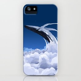 cloud wales iPhone Case