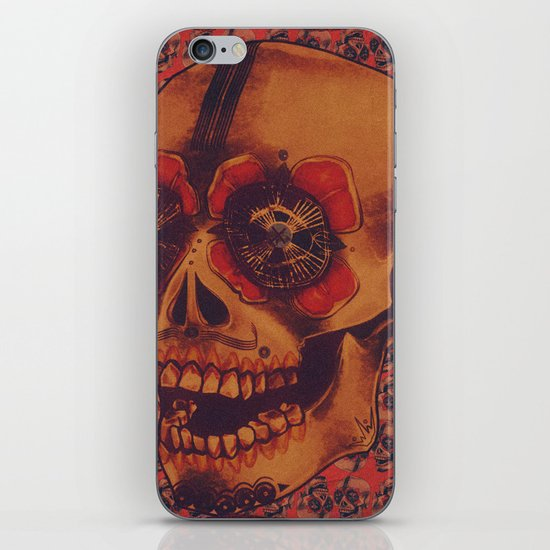 Skulled iPhone & iPod Skin