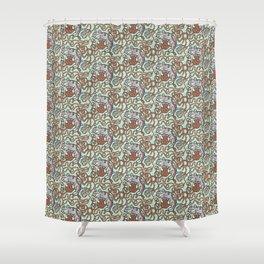 Yarnball Kitty Cat Shower Curtain