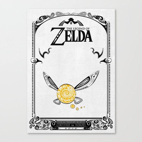 Zelda legend - Navi Canvas Print