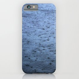 Estuary Rain iPhone Case