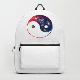 Yin Yang Symbol Watercolor Backpack
