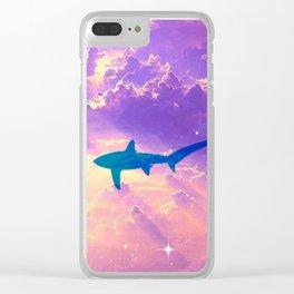 Air Shark Clear iPhone Case