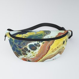 Primary Agate Slab Fanny Pack