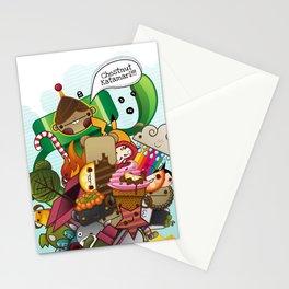 Chestnut Katamari Stationery Cards