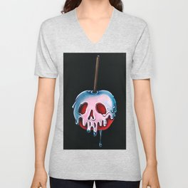 "Disney's Snow White Inspired ""Poisoned Candied Apple"" Unisex V-Neck"