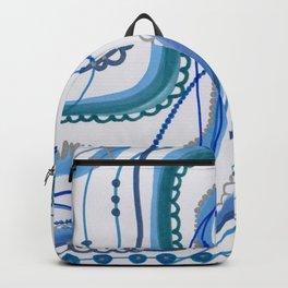 Ribbon 'n Blues Backpack