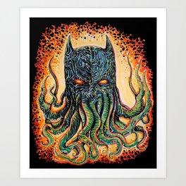 Bat Cthulhu Art Print