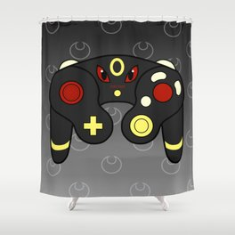 Dark Game Shower Curtain