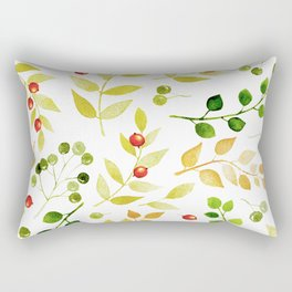 Branches and Leaves 2 Rectangular Pillow