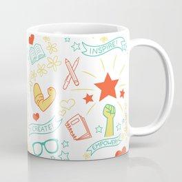 Feminist Pattern 2 Coffee Mug