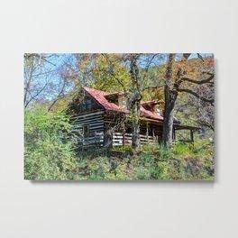 Mountain House Metal Print