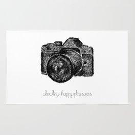 Camera Doodle Rug