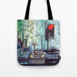 Traffic District Tote Bag