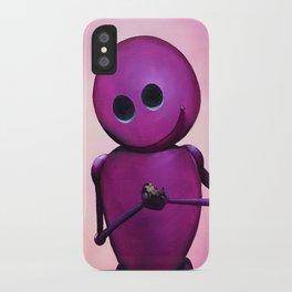 Happy Bot iPhone Case
