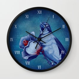The Nightingale And The Rose Wall Clock