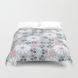 Soft Floral Duvet Cover