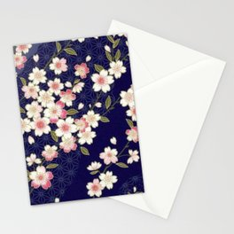 De Cherry Blossoms Stationery Cards