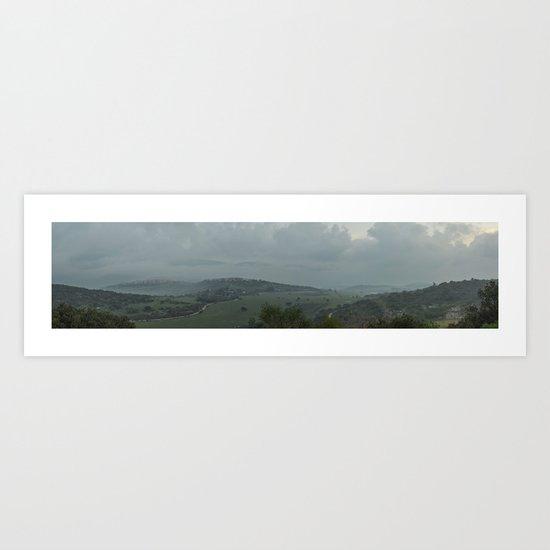Panorama 2 Art Print