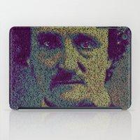 poe iPad Cases featuring Edgar Allan Poe. by Robotic Ewe
