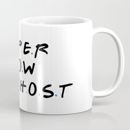 Paper Snow A Ghost Coffee Mug