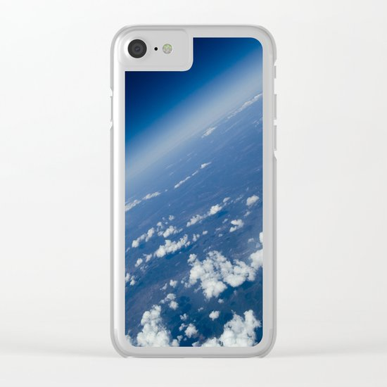 infinite space Clear iPhone Case