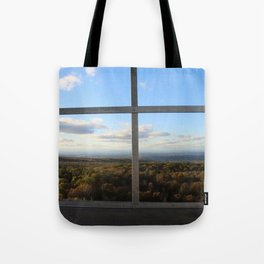 Grafton Fire Tower View Tote Bag
