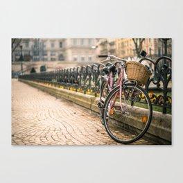 Vintage bicycle Canvas Print