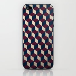 pop cube iPhone Skin
