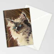 The Magnificent Ascent of the Mighty Bear (the Ragdoll Cat) Stationery Cards