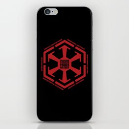 The Code of the Sith iPhone Skin