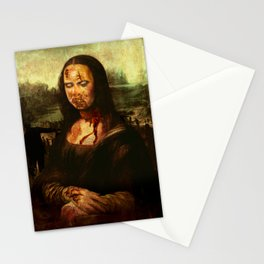 No Mona! Not You Too! Stationery Cards